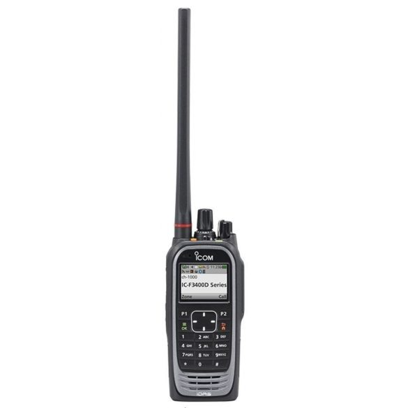 Icom IC-F3400DT VHF sávú digitális kézi adóvevő