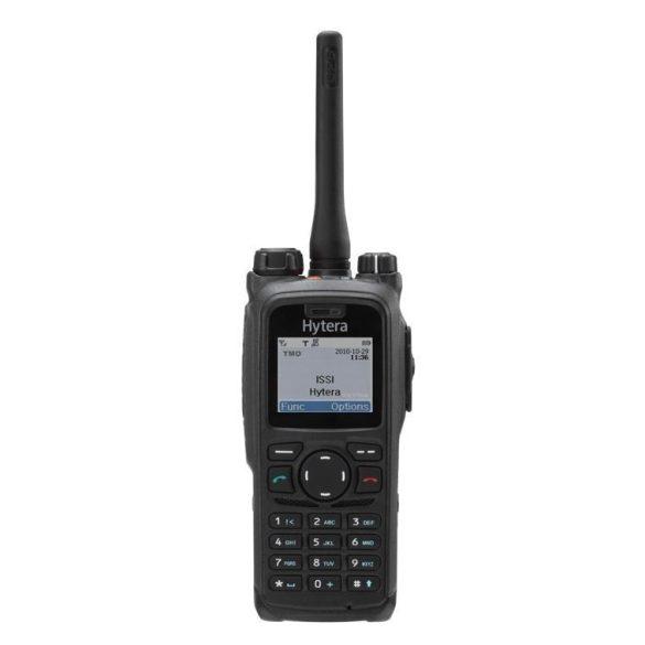 Hytera PT580H Plus digitális TETRA (EDR) kézi adóvevő