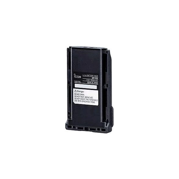Icom BP-232WP Li-ion akkumulátor