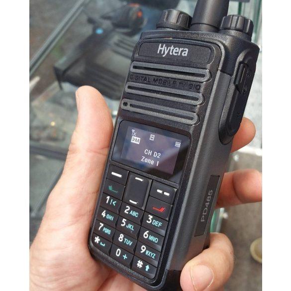Hytera PD485 digitális kézi adóvevő