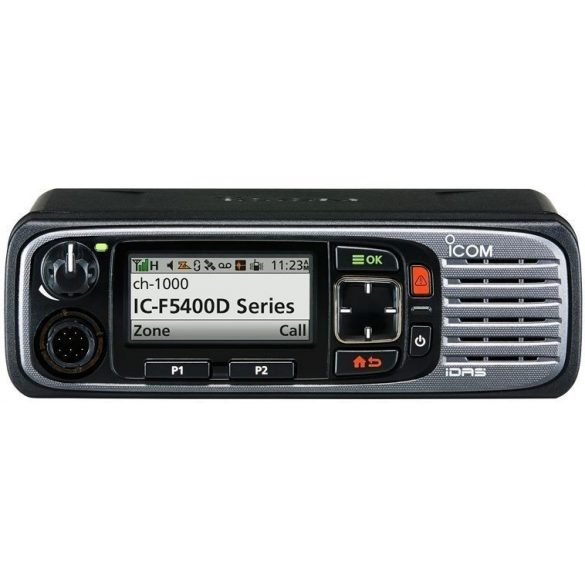 Icom IC-F6400D UHF sávú digitális mobil adóvevő