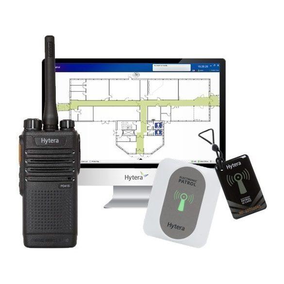 Hytera Patrol System őrjárat ellenőrző rendszer