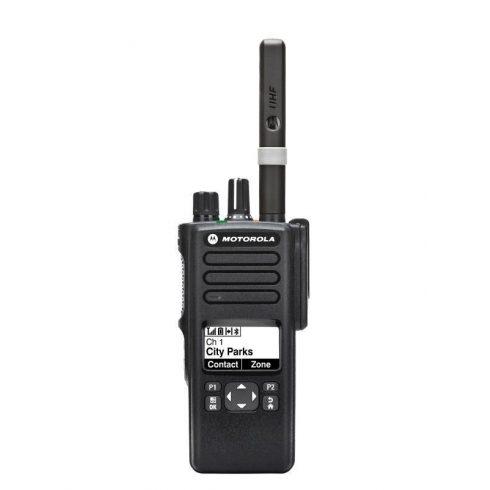 Motorola DP4600E digitális urh adó vevő
