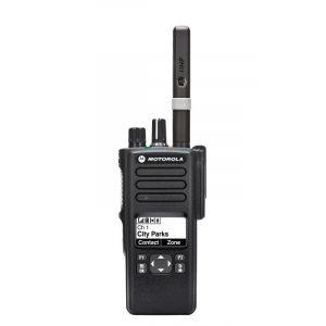 Motorola DP4601E digitális urh adó vevő