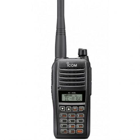 Icom IC-A16E repsávos rádió adó vevő