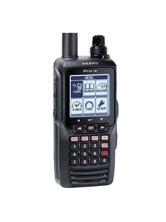 Yaesu FTA-550AA repsávos rádió adó vevő