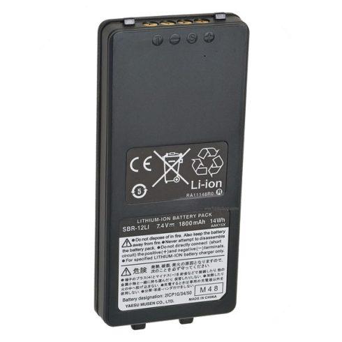 Yaesu SBR-12LI LiIon akkumulátor