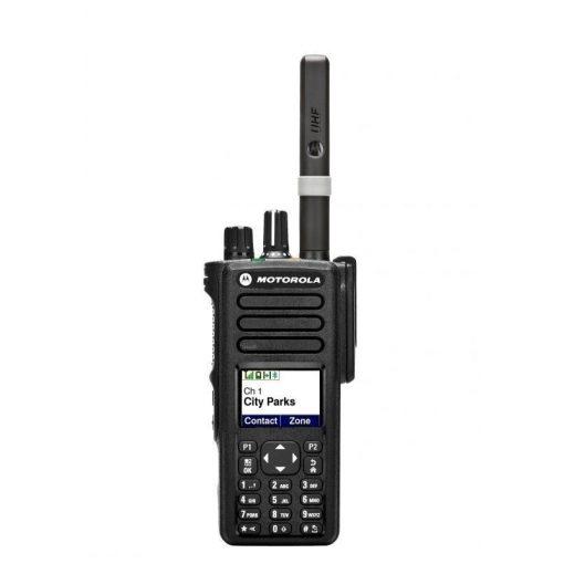Motorola DP4801E digitális urh adó vevő