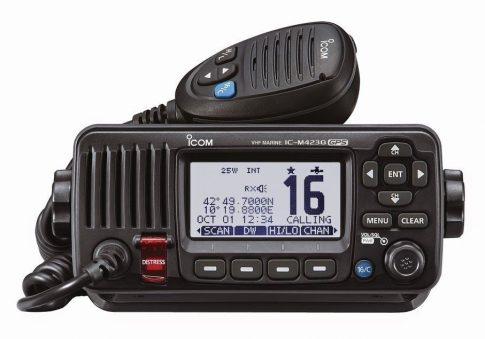 Icom IC-M423G hajózási sávú mobil adóvevő