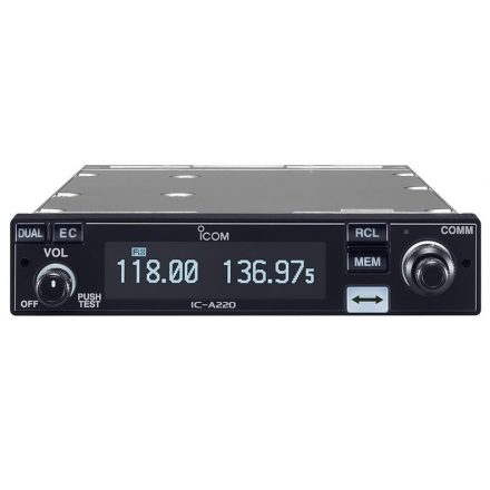 Icom IC-A220 TSO repsávos rádió adó vevő
