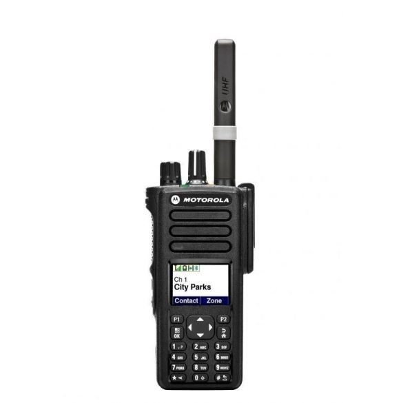 Motorola DP4800E digitális kézi adóvevő