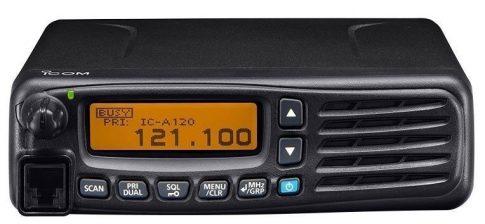 Icom IC-A120E repülési sávú mobil rádió