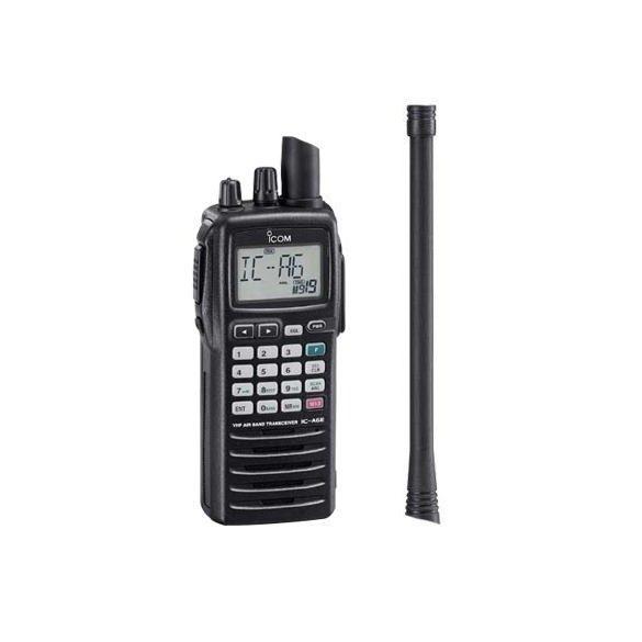 Icom IC-A6E repsávos kézi rádió