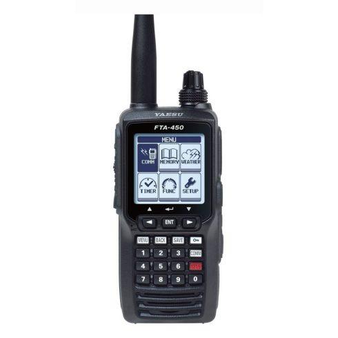 Yaesu FTA-450L repsávos rádió adó vevő