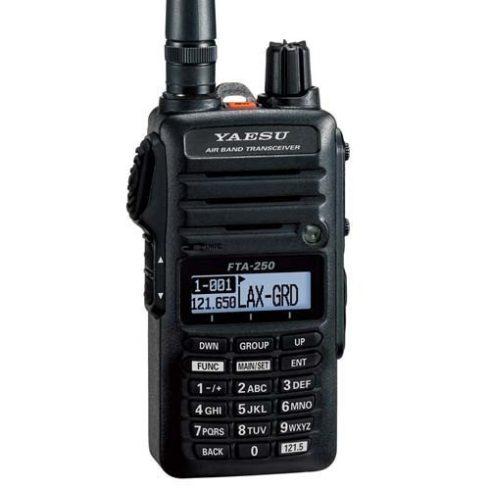 Yaesu FTA-250L repsávos rádió adó vevő