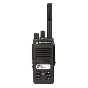 Motorola DP2600E digitális kézi adóvevő