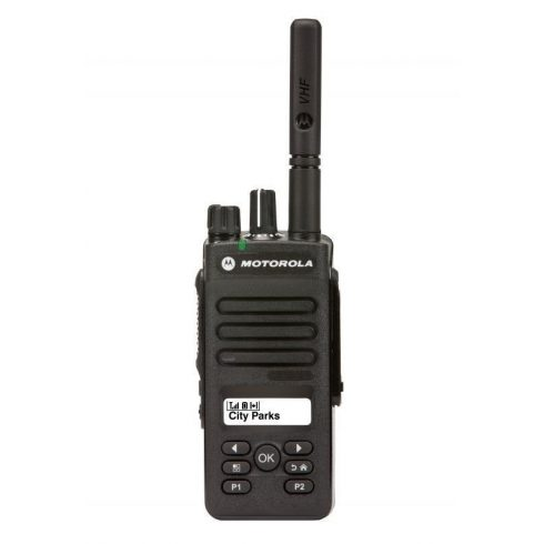 Motorola DP2600E digitális urh adó vevő