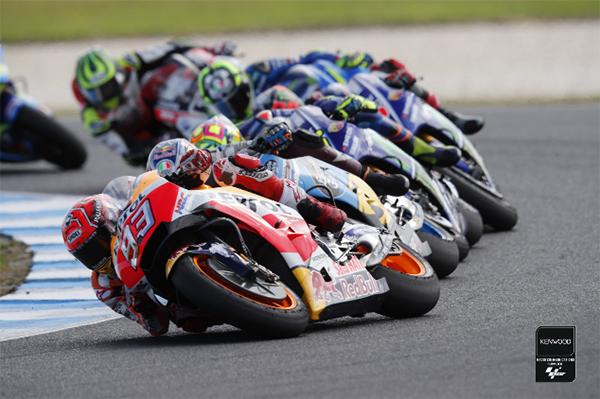 A MotoGP a Kenwood adó vevőit választotta !