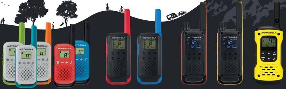 Motorola walkie talkie készülékcsalád